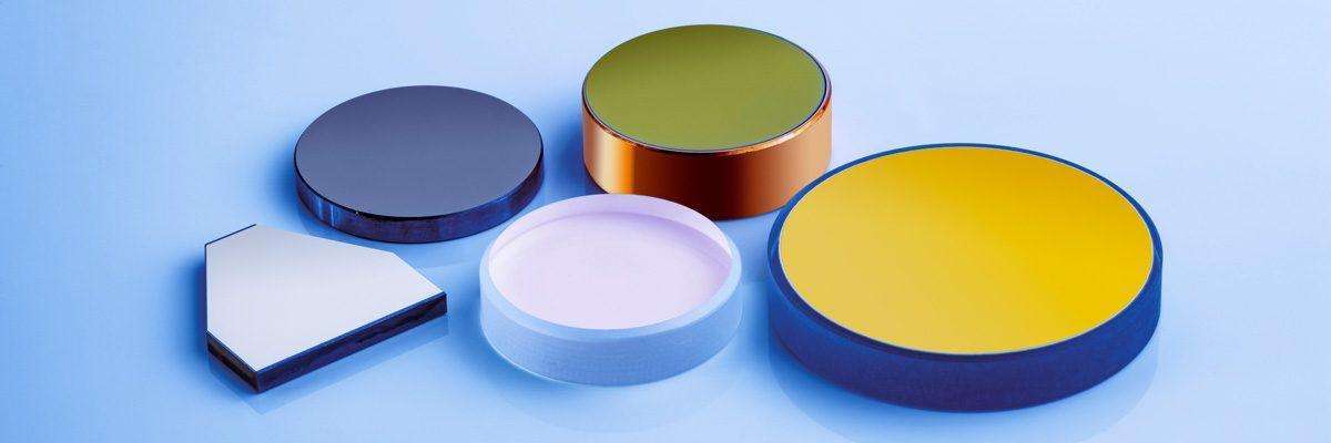 Optische Komponenten wie Laser Spiegel, Oberflächenspiegel, Vorderflächenspiegel / Front Surface Optical Mirrors