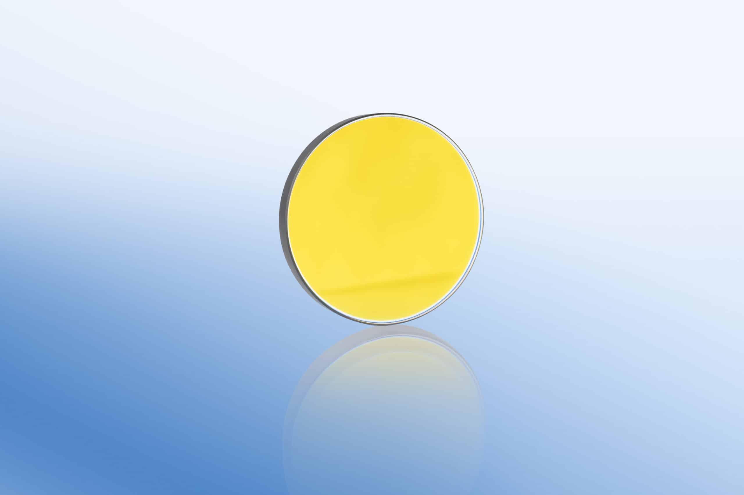 Laseroptik Goldspiegel